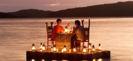 romantic dinner on th water