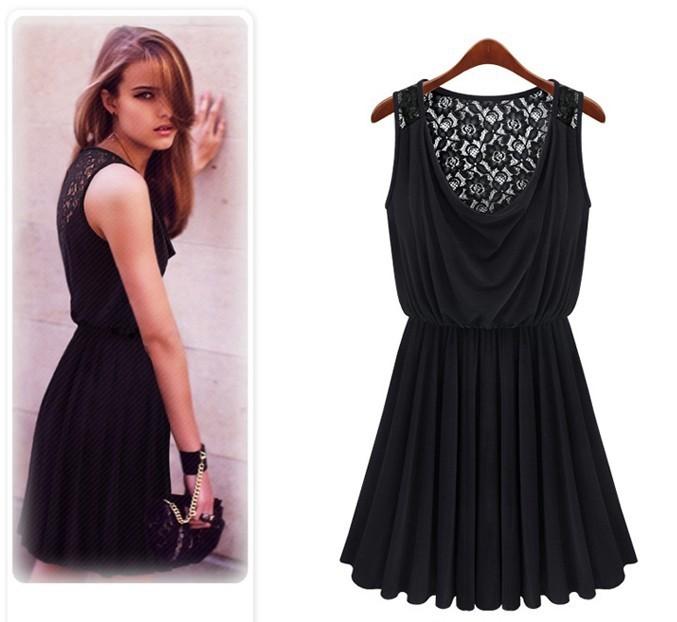 Sleeveless retro sultry dress $9.52