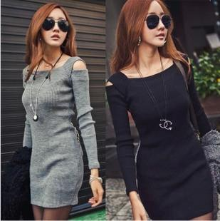 Slim long-sleeve Dress $8.84