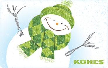 Kohls Gift Card Giveaway