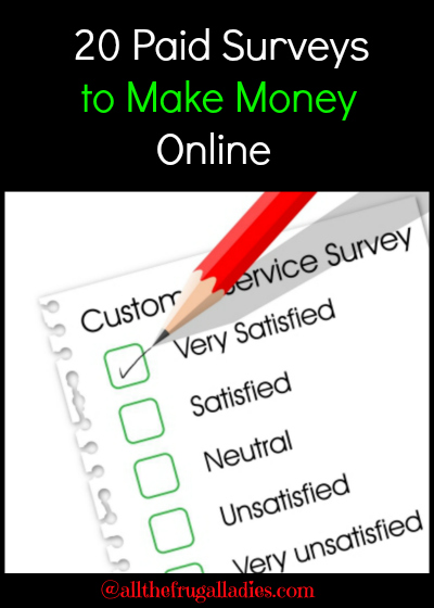 Online surveys can be a great way to make some extra money on your ...