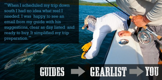 Guide Pro Gear List