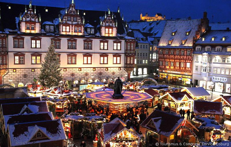 A beautiful Christmas Market in Germany